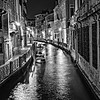 Venice Canal; nightime