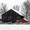 Winter Barns