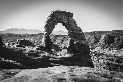 The Delicate Arch in Arches National Park