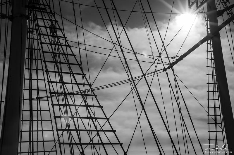 Mast and Ropes