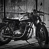 BSA Bike at the Greenhouse Moto Cafe' 4-5-16
