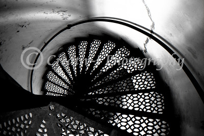 Staircase- South Manitou Island Lighthouse, South Manitou Island, Michigan