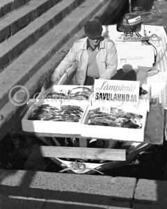 Fish Vendor- Helsinki, Finland