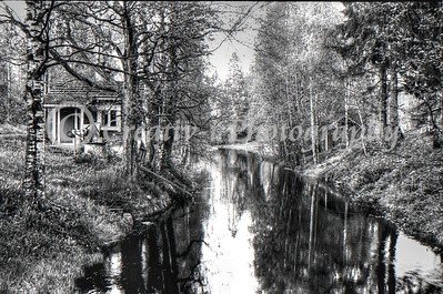 Finnish Sauna on a Stream - 1986