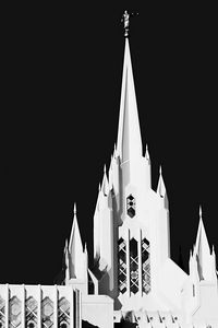 Mormon Church Spire, San Diego, CA.
