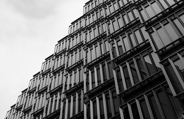 Architecture around the London Bridge area