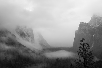 Yosemite Valley Storm