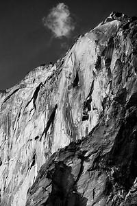 Cloud on Horsetail Falls