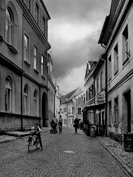 Tabor, Bohemia, Czech Republic.