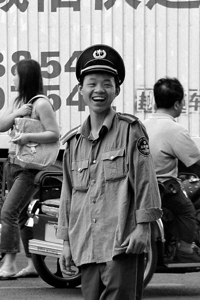 Policeman, Beijing