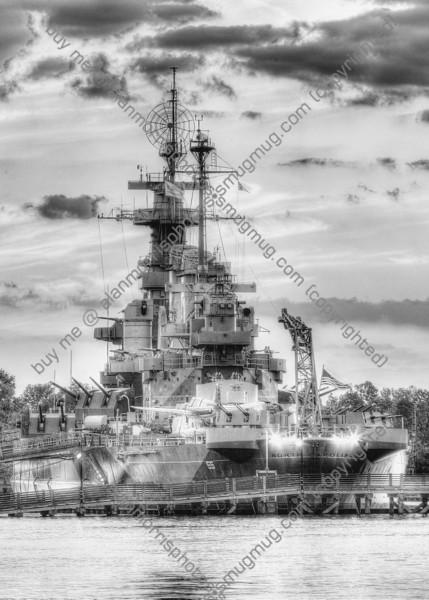 USS North Carolina 1