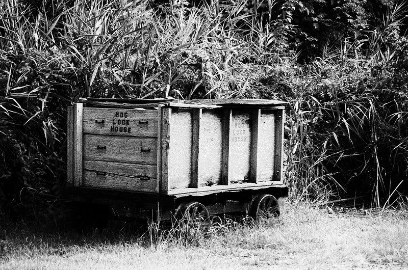 Havre de Grace Railroad cart