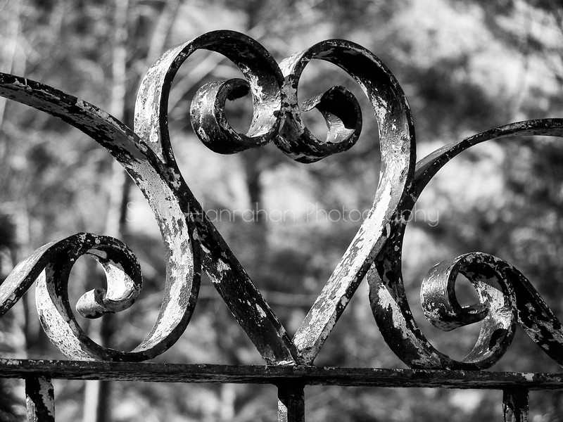 Wrought Iron Heart