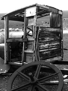 Old truck in Ione Valley, NV Ghost town