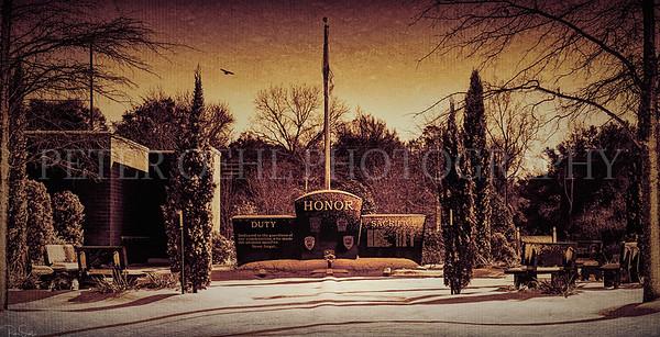 Winter time LEO memorial shot 2018