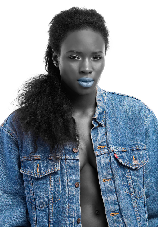 Model: Magne Ndiaye, Makeup: Taming Chen