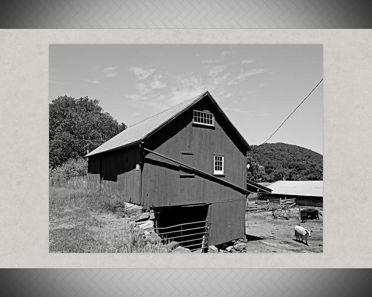 10 Black & White Farm Images