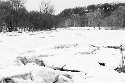 Icy Humber River