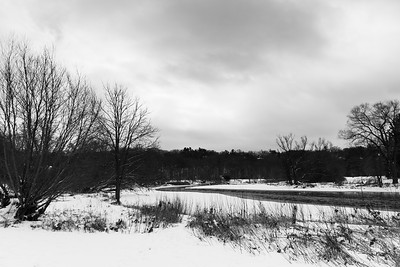 The Humber River In Winter