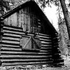 Ranger's Cabin located in Death Canyon<br /> Grand Teton National Park