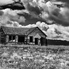 Old home along Highway 31 that I saw traveling from Jackson, WY to Boise, ID