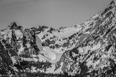 Twin Peak slide area