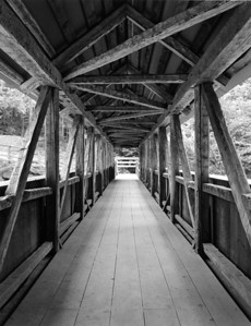Covered Bridge at Frankonian Notch Silver Halide image