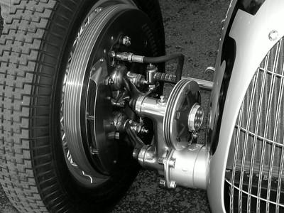 Goodwood Revival 2002, pre-war auto union race cars