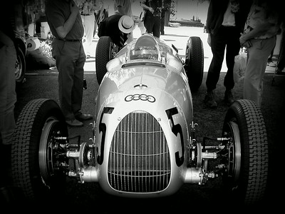 Goodwood Revival, pre-war auto union race cars