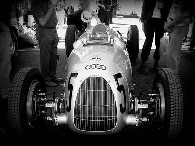 Goodwood Revival, pre-war auto union race cars