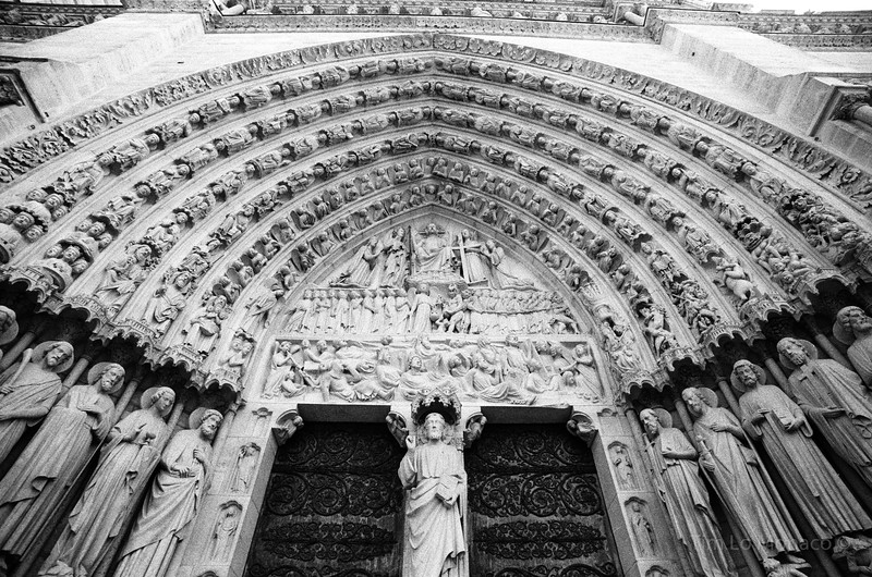 Notre Dame Main Entry