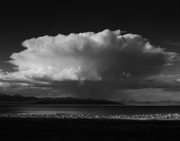 Mono Lake Thundercloud