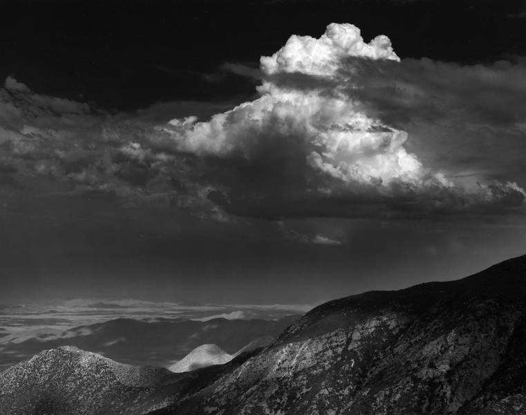 Thundercloud and White HIll, Laguna Mountains