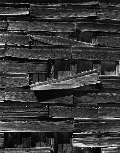 Wooden Wall, Bodie, California