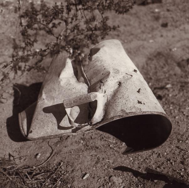 White Bucket, Mojave Desert