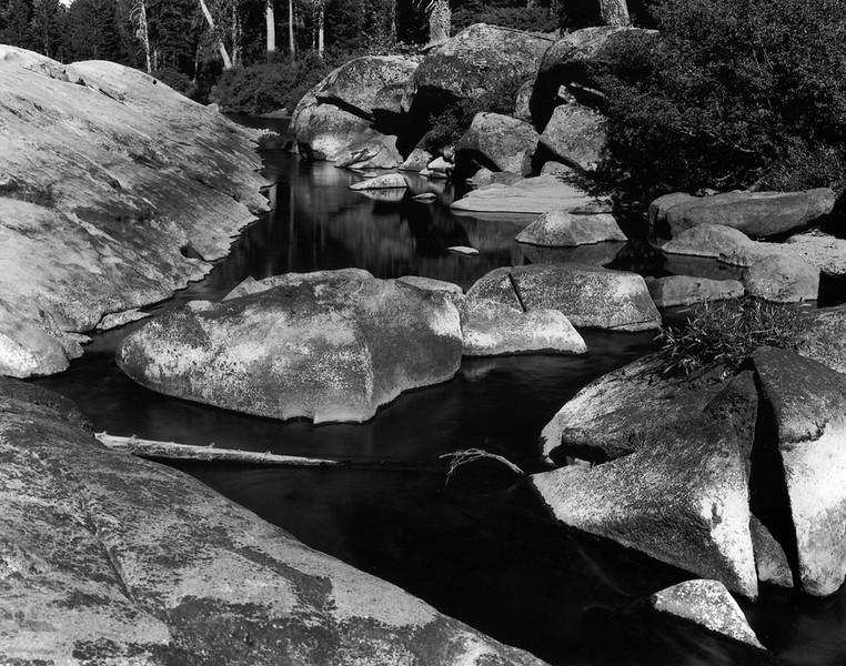 Rocks, Yuba River