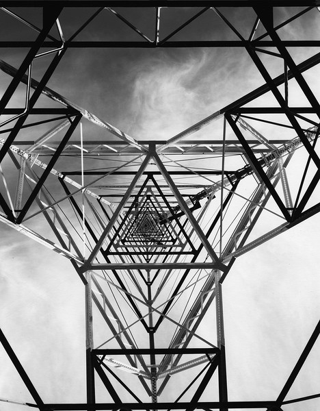 Looking Up Tower 32, Chollas Heights Naval Facility