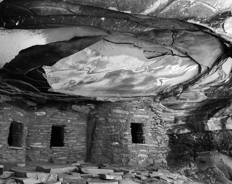 Fallen Roof Ruin, Cedar Mesa, Utah