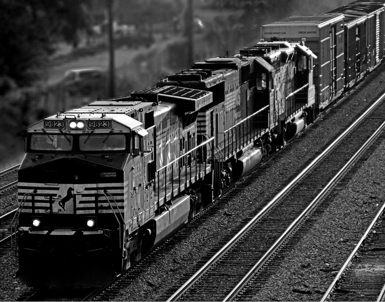 Norfolk Southern Train Inbound to Birmingham, Alabama