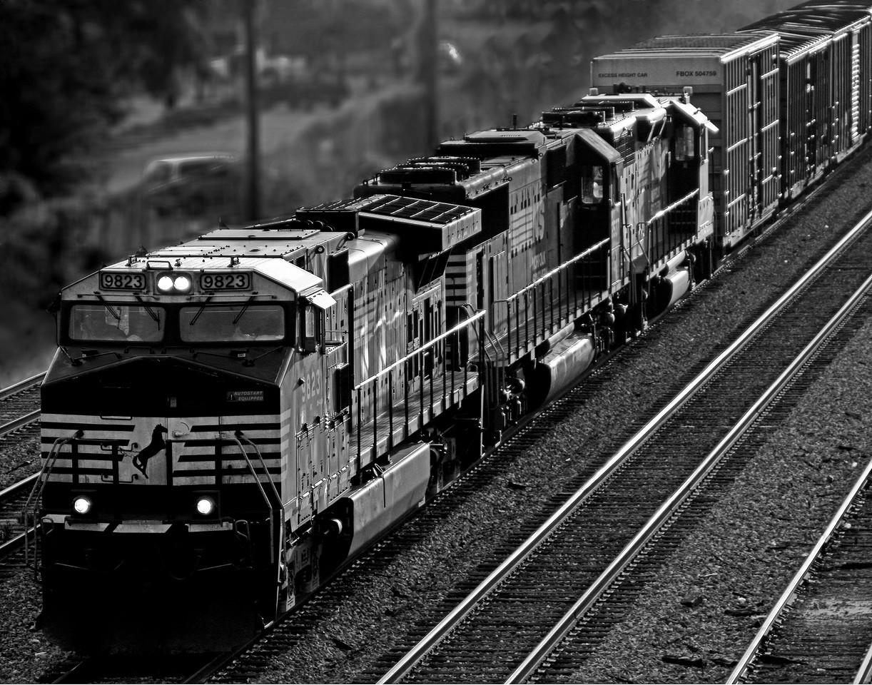 Norfolk Southern Train Inbound to Birmingham, Alabama