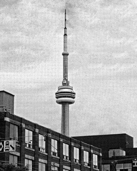 CN Tower Toronto Canada tallest free standing structure in the Americas