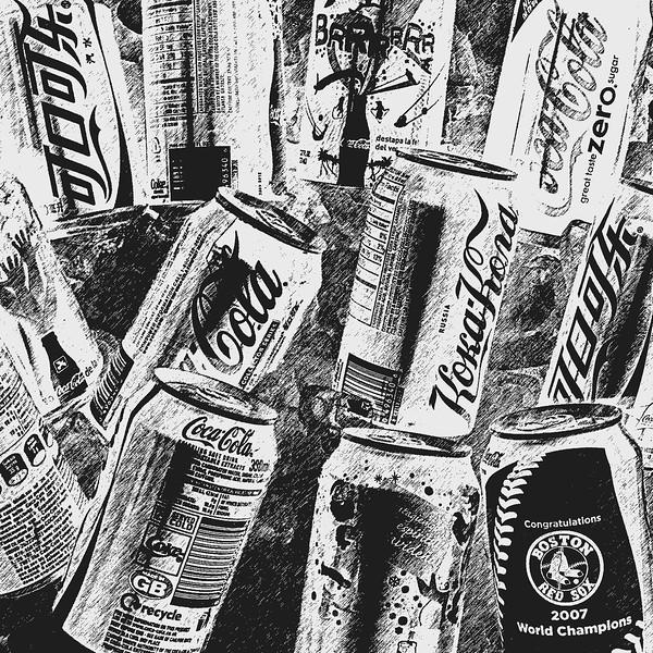 Coca-Cola from around the world photographic art