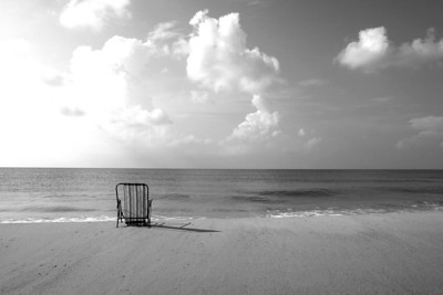 Morning on the beach, Cape San Blas, FL