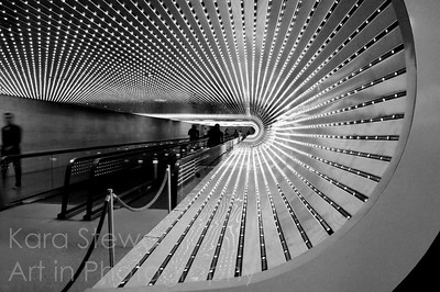 Tunnel Vision, black and white