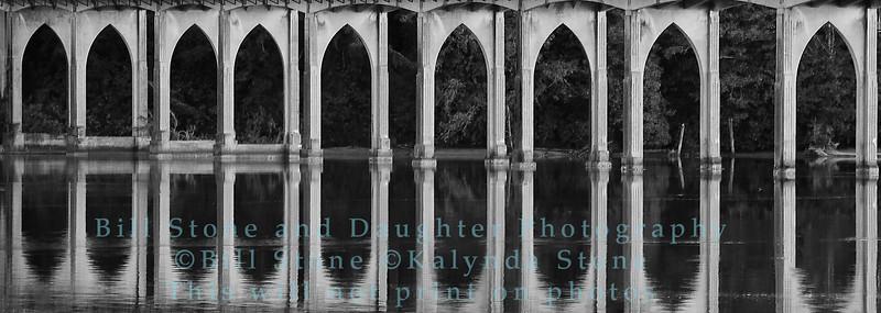 Florence Oregon Bridge over Siuslaw River