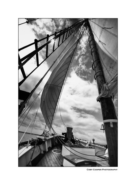 Another shot under the nautical theme. This is from a tall ship in Traverse City Bay, Michigan