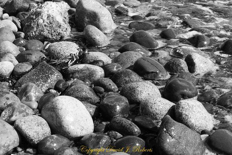 Rocks on the beach, Cherry Point WA