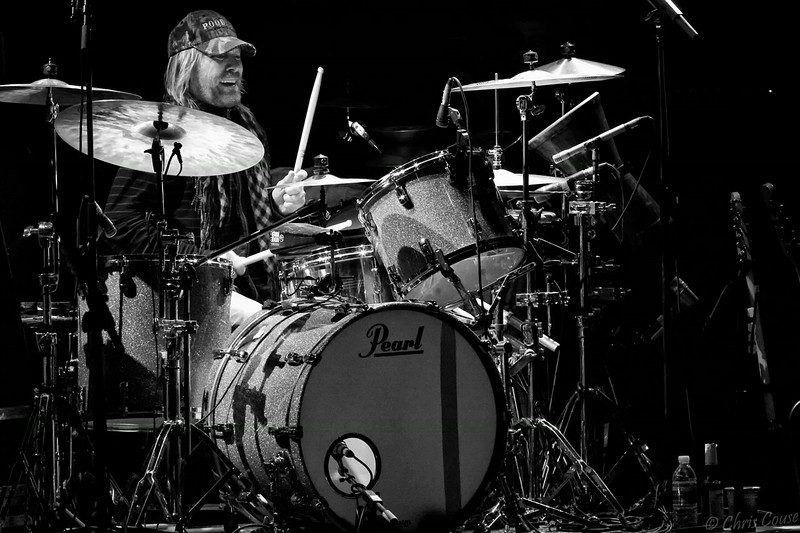 Matt Abts on the drums !