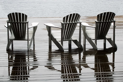Adirondack Chairs, Blue Mountain Lake