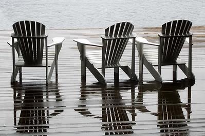 Adirondack Chairs, Blue Mountain Lake